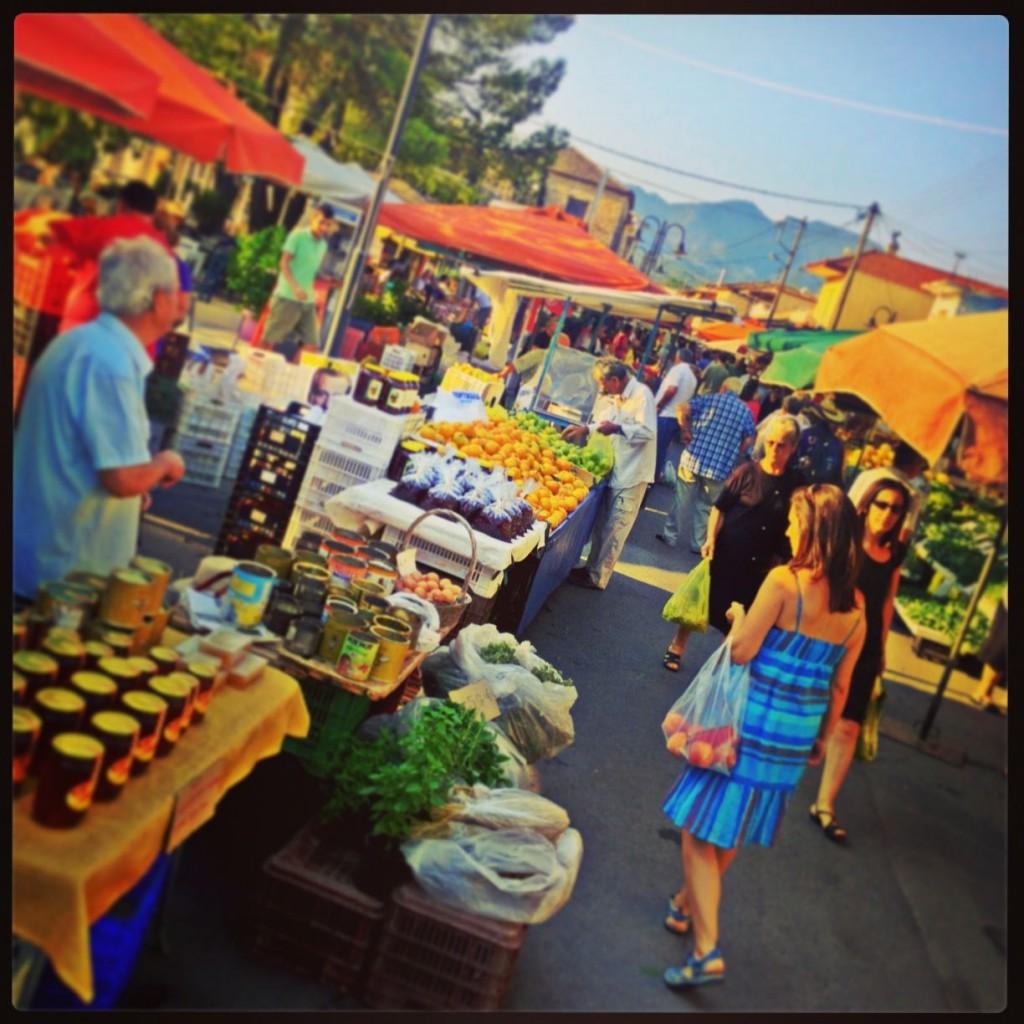 market shot